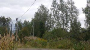 Замена проводов на СИП в СНТ. Солнечногорский район